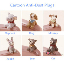 Free shipping Anti-dust plugs 3.5mm Earphone Headphone Cap Charm mini figures PVC toys anime phone cable decoration kids gifts