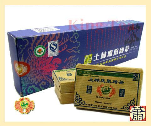 2010 Tu Lin Feng Huang (Zhuan) Zhuan Brick 100g*5=500g YunNan Organic Puer Raw Tea Sheng Cha Weight Loss Slim Beauty<br><br>Aliexpress