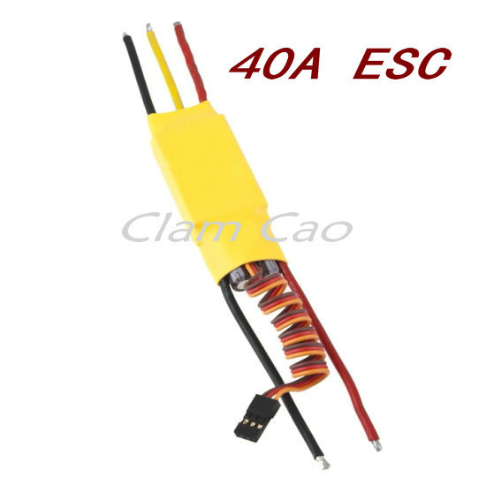 40A ESC speed controller For brushless Motor(China (Mainland))