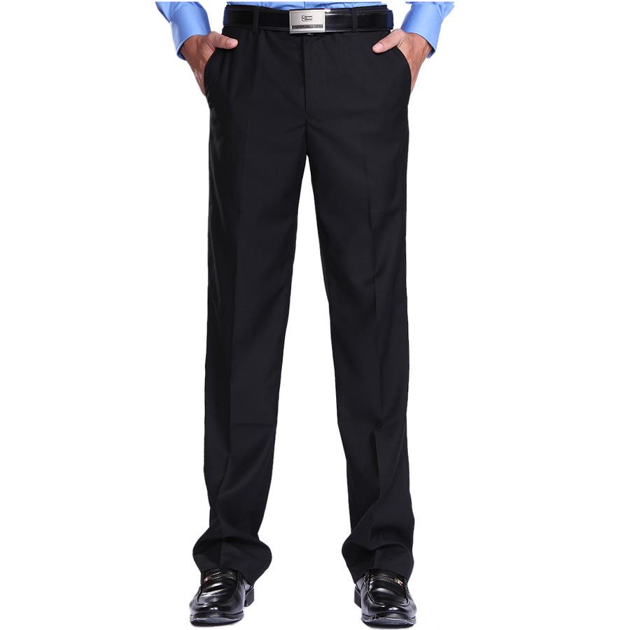 Hotel Waiter Pants Male Restaurant Worker Overalls estaurant Black Clothing Waiter Trousers Men Chef Working Pants 89(China (Mainland))