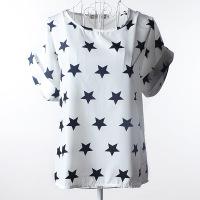 Женская футболка L&L chiffion 1111 женская футболка l