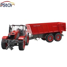 Buy RC Car 6 Channel 4 Wheel Truck Remote Control Simulation Farm Tractor Dumper for $54.99 in AliExpress store