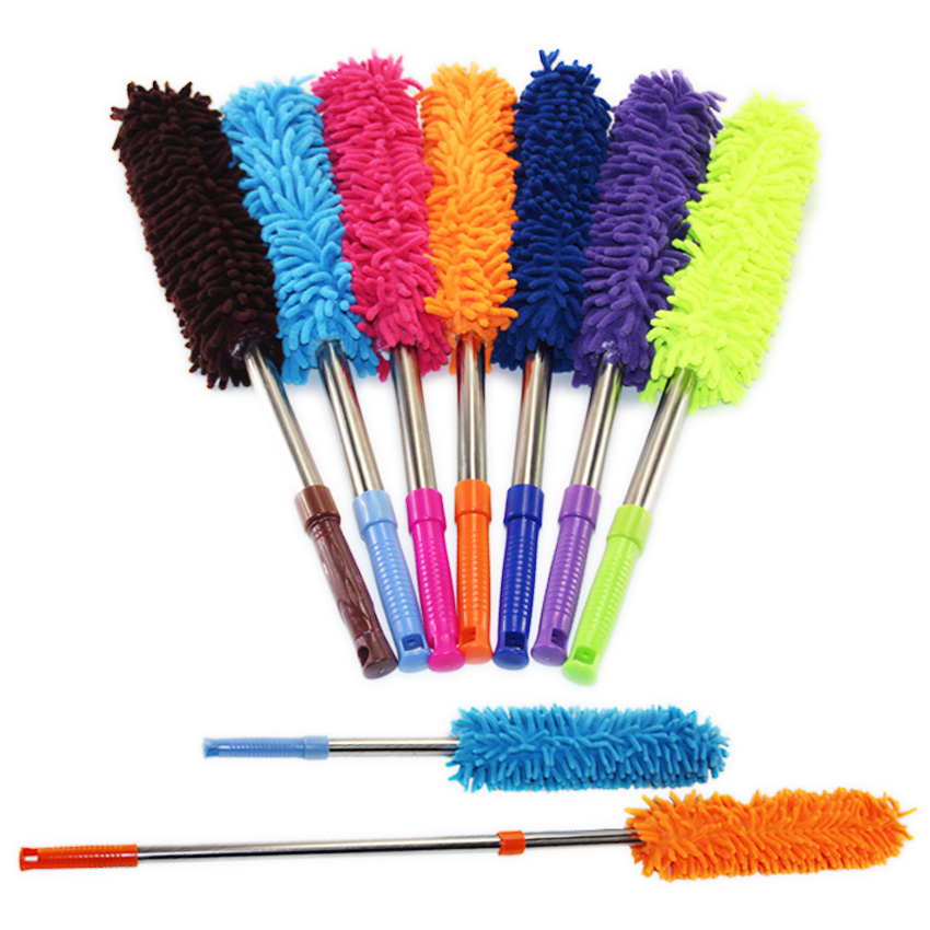 household cleaning tools scalable chenille duster mop duster dusting brush cleaning dust feather. Black Bedroom Furniture Sets. Home Design Ideas