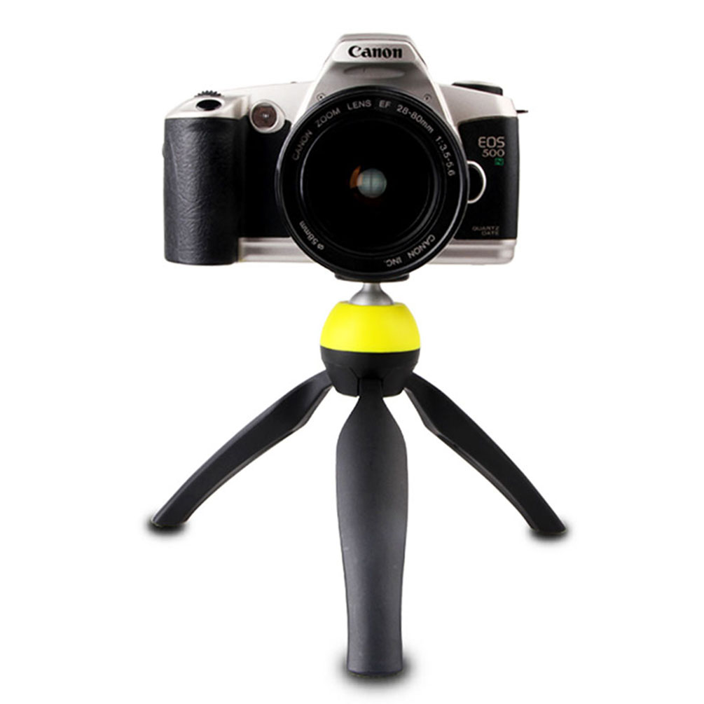 2-in-1 360 Degrees Rotation Camera Tripod and Hand-held Selfie Sticks For DSLR Gopro Hero Phone, With Gopro Holder Mount Adapter