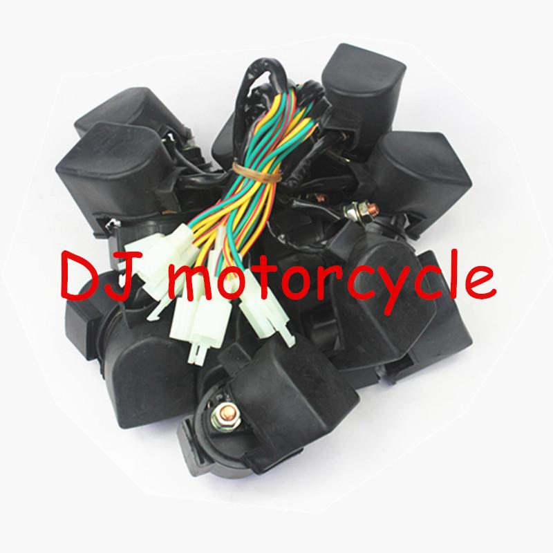 Коммутатор для мотоциклов 2 ATV Taotao 70 110 125 150 200CC 3 pcs универсальный топливный газ для мопедов фильтры мотоциклов kart roketa taotao