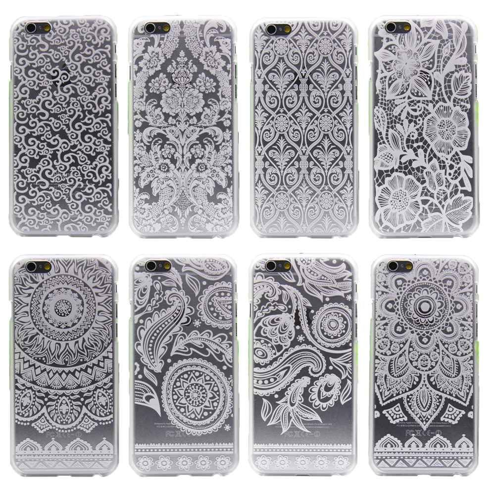 2015 For Iphone 4 4s 4g Case Top Fashion Listing Retro Perris Flower Series Perfectly Transparent Protective Cover Phone Cases(China (Mainland))