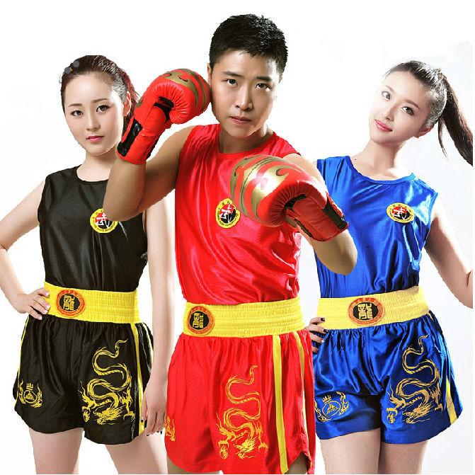 muay thai shorts sanda boxing mma clothes boxeo roupas
