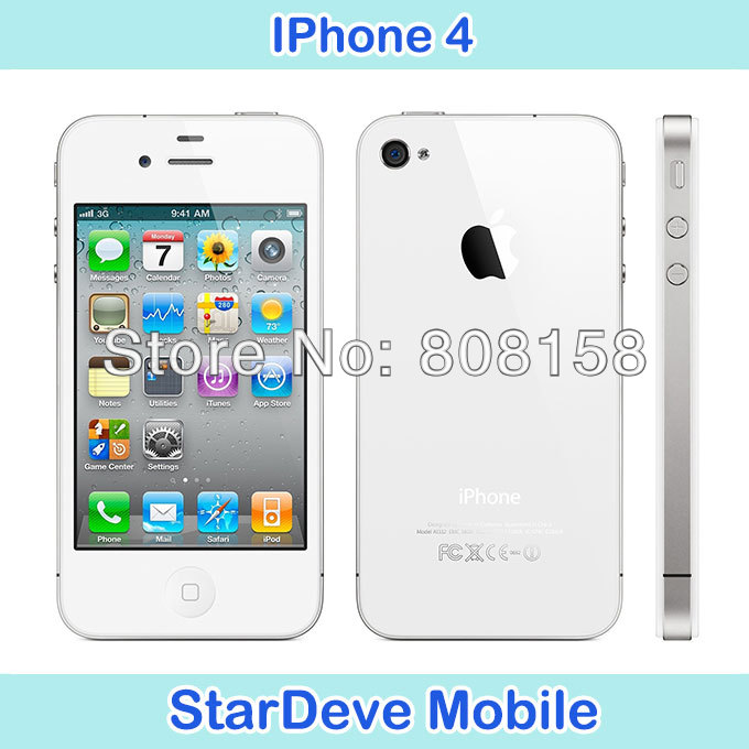wholesale original apple iphone 4 factory unlocked(China (Mainland))