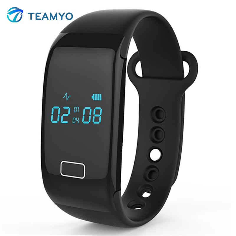 100%  JW018 BT4.0 Smart Band Bracelet Heart Rate Monitor Activity Fitness Tracker Wristband for IOS &amp; Android Smartphone<br><br>Aliexpress