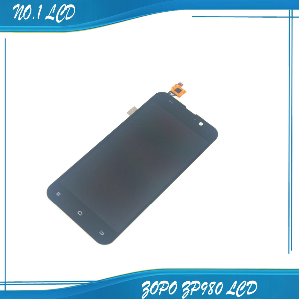 TOUCH SCREEN AND LCD FOR ZOPO ZP980 C2 C3 ZOPO C2 C3 zp980 LCD displays screen 5.0 original 1920x1080P