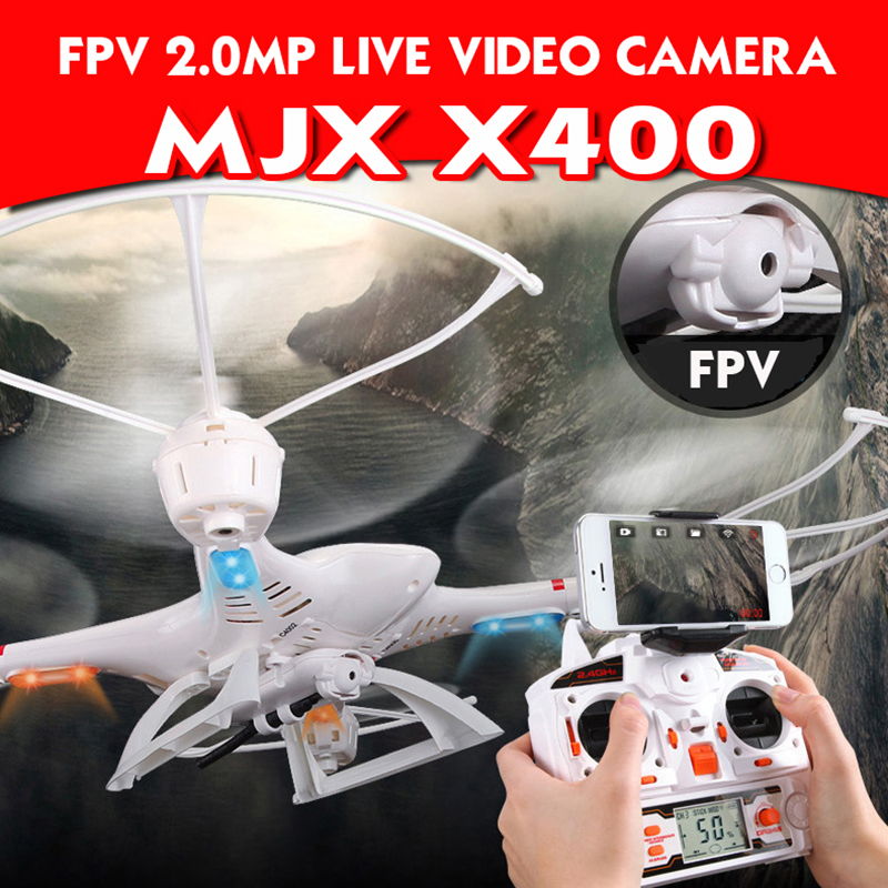 FPV DRONE MJX X400 can install C4005 camera RC drone helicopter quadcopter profissional drone with camera hd dron vs SYMA X5SW(China (Mainland))