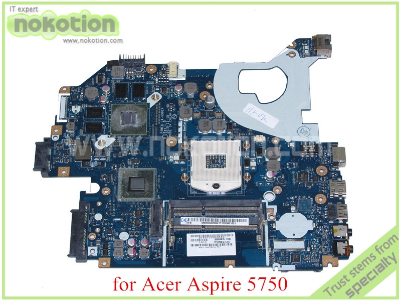 laptop motherboard for acer asipre 5750 5750G P5WE0 LA-6901P Rev 1.0 MBRCG02004 MB.RCG02.004 HM65 NVIDIA GT540M DDR3(China (Mainland))