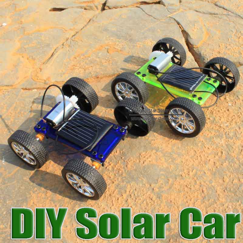 DIY solar toy car,assemble solar vehicle yourself, mini solar energy powdered toy racer, child kid solar car Education kit(China (Mainland))