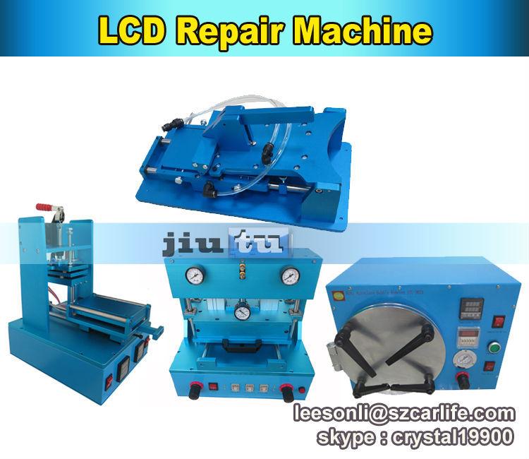 Free Shipping Full Kit LCD Refurbish Machine LCD Repair Machine OCA Lamination Machine Vacuum LCD Separator Machine(China (Mainland))