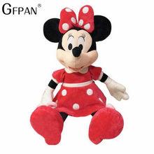 2019 Hot Sale 40-100 centímetros de Alta Qualidade Stuffed Mickey & Minnie Mouse De Pelúcia Bonecas de Brinquedo de presente de Aniversário Presentes de Casamento para o Bebê Crianças Crianças(China)