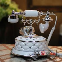 High end European fashion creative landline telephone landline retro villa model room Decoration housewarming gift