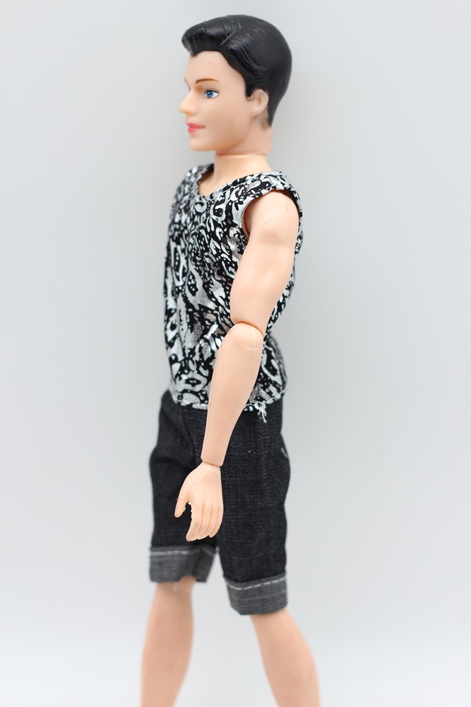 Prince Ken Doll Garments Vogue Swimsuit Cool Outfit For Barbie Boy pal KEN Doll Finest Youngsters's