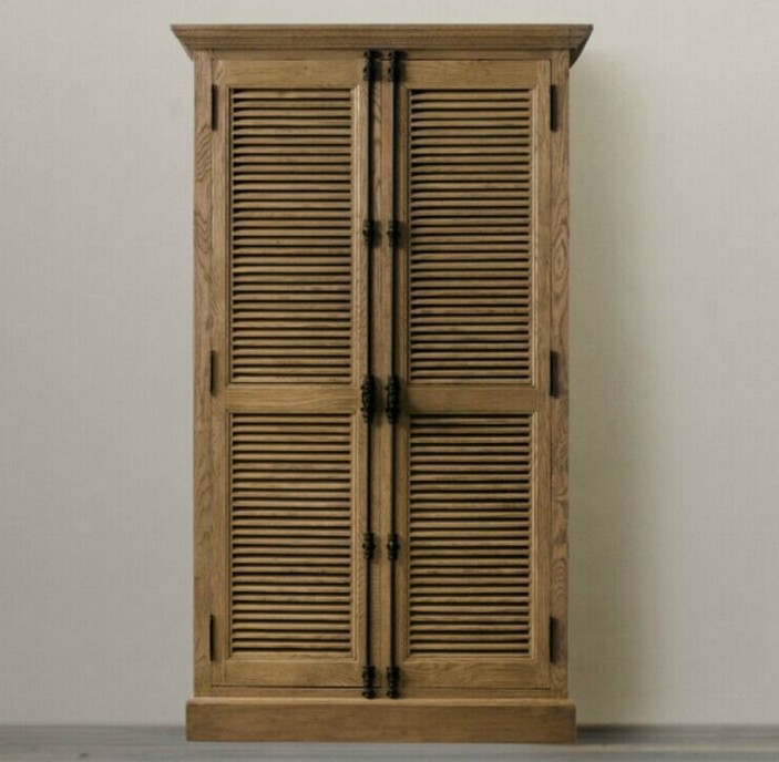 Wardrobe Picture More Detailed Picture About French Oak American Country To Do The Old Retro