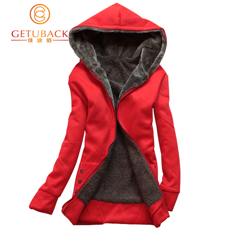 2015 New Fashion Women Winter Hoodies Women's Casual Cotton-padded Warm Coat Winter Jacket Hooded, B205(China (Mainland))