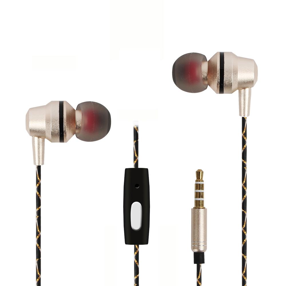 xiaomi Metal Armature sport waterproof Stereo HiFi Music Earphone with mic fone de auriculares for mobile phone xiaomi apple(China (Mainland))