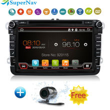 Android Car DVD player 2 din for VW Golf Jetta Tiguan Touran for Skoda octavia auto radio Android GPS Navi with DVD Radio GPS 3G(China (Mainland))