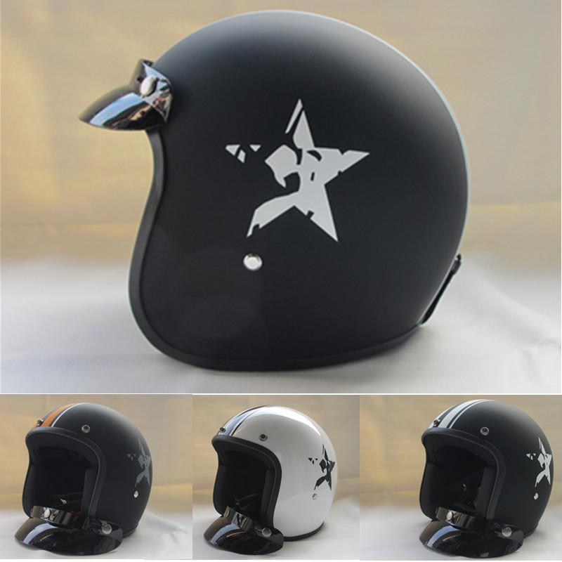 casque capacetes 2014 summer 3 4 half open face vintage. Black Bedroom Furniture Sets. Home Design Ideas