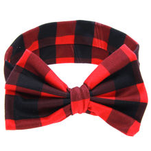 Buy 1PCS 2017 Hot Sale Lovely Kids Girls Bow Knot Headband Turban Knot Head Wrap Floral Dot Hair Band Hair Accessories for $1.46 in AliExpress store