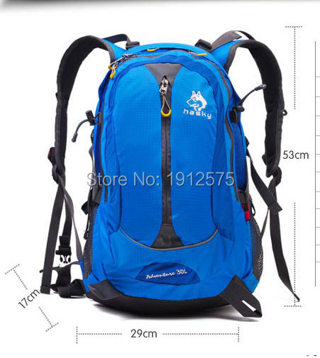 Waterproof nylon sports backpack outdoor climbing package Travel 30 l multifunctional backpack hiking backpack bag<br><br>Aliexpress