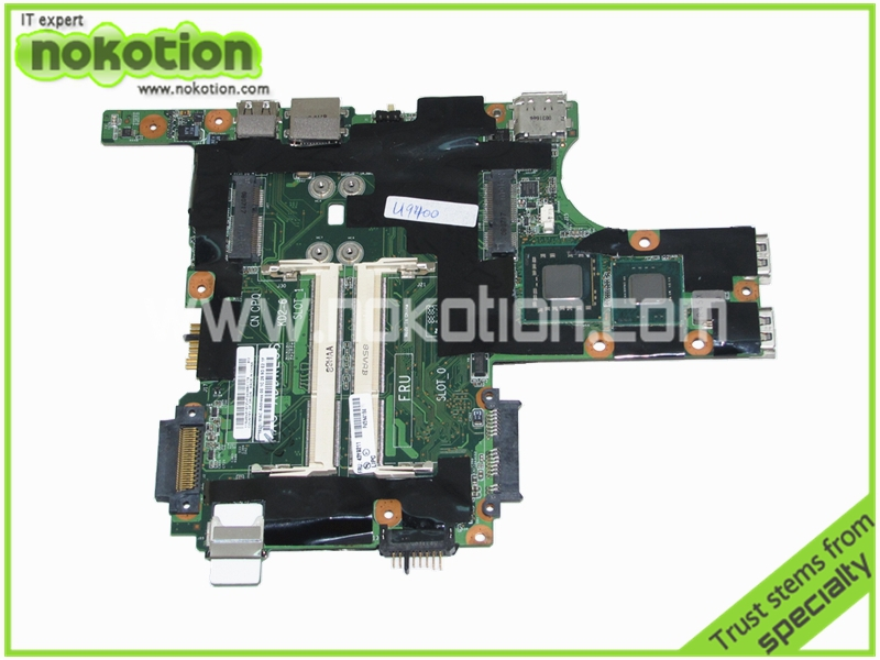 Laptop motherboard For IBM lenovo thinkpad X301 13.3 inch notebook mainboard 1.4GHz SL9400 CPU onboard 42W8144 43Y9211 60Y3782(China (Mainland))