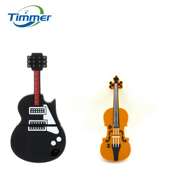 Genuine pen drive violin musical instrument USB Flash Drive memory stick pendrive 4GB 8GB 16GB 32GB 64GB 512 guitar usb stick(China (Mainland))