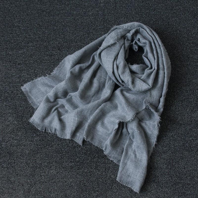 Scarf Stripes Women Cotton Scarves and Stoles Large Hijab Scarf Winter Soft Vintage Pashmina Hot Sale