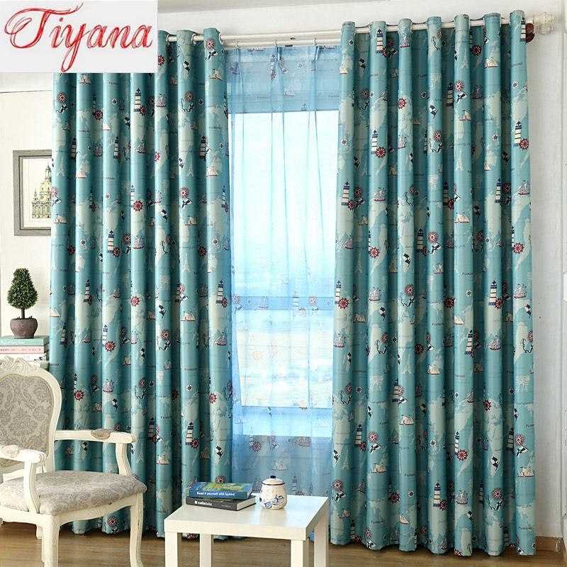 Online Get Cheap Nautical Window Curtains Alibaba Group