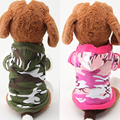 dog clothes costume warm army pet dog clothing coat jacket Jumpsuit hoodies rock winter spring Yorkshire