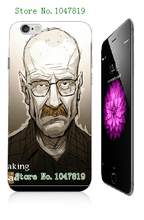 Mobile Phone Cases Retail 1pc breaking bad Protective White Hard Case For Iphone 6 6th Free Shipping