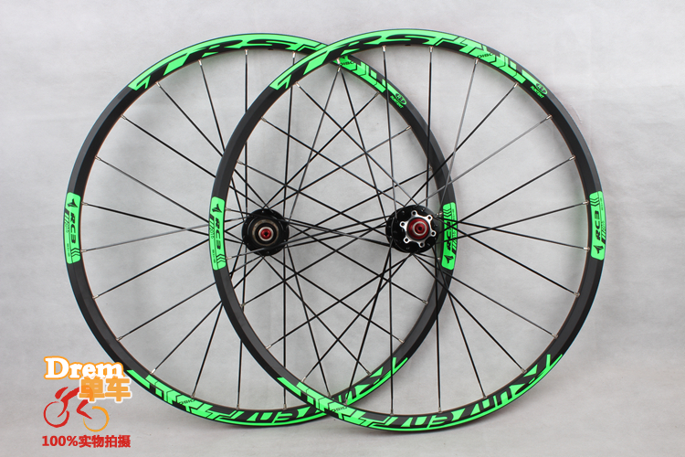 2016 Mountain bike wheel MTB / 27.5 inches four bearing wheel set/Mountain bike wheel set alloy wheel MTB 24 holes(China (Mainland))