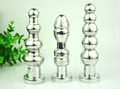 3 in1 set 3 style Stainless steel butt plug G spot vagina anal Stimulating massage anal