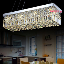 K9 LED Crystal Chandelier rectangle led lamps modern crystal chandeliers for dining room contemporary crystal chandelier(China (Mainland))
