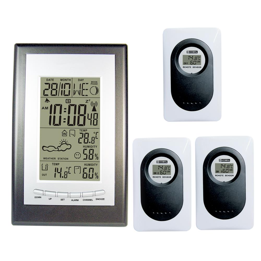 Rf horloge promotion achetez des rf horloge promotionnels for Thermometre exterieur wifi