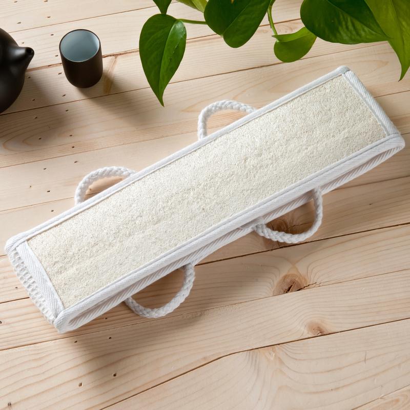 Lot of 1 Sisal Back Strap Bath Spa Sponge Loofah Loofa loofah sponge sisal sponge(China (Mainland))