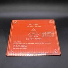New product 5pcs lot RepRap mendel PCB Heated Heatbed MK2B for Mendel 3D printer hot bed