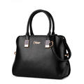 New Women PU Leather Totes Bags Ladies Casual Handbags Black Hell Handbags Crossbody Bags
