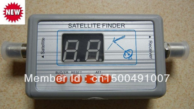 10PCS/lot New arrival hotsell Digital Displaying For Satellite Finder Meter ,TV Signal Finder SF9505