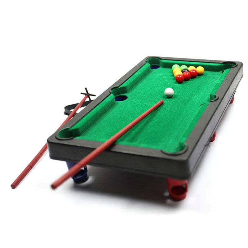 MINI POOL TABLE Flocking desktop simulation billiards Novelty Mini billiards table sets children's play sports balls Sports Toys(China (Mainland))