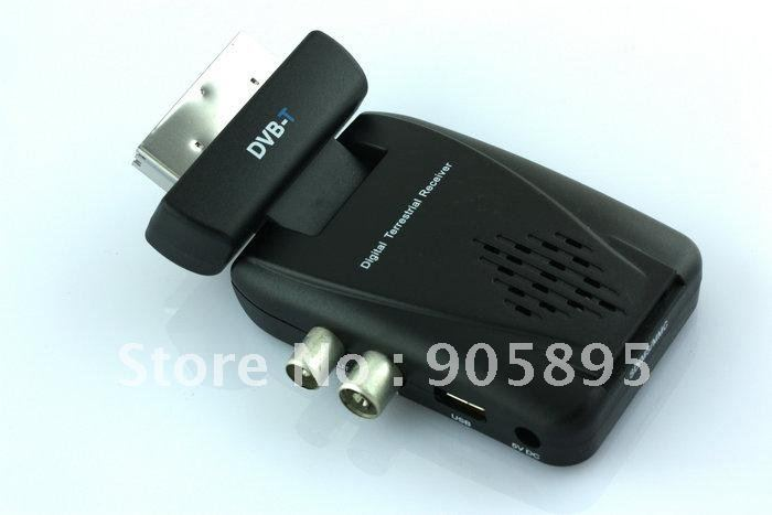 BRAND NEW Digital Scart TV Box Tuner DVB-T Mini Freeview Receiver Free shipping(China (Mainland))
