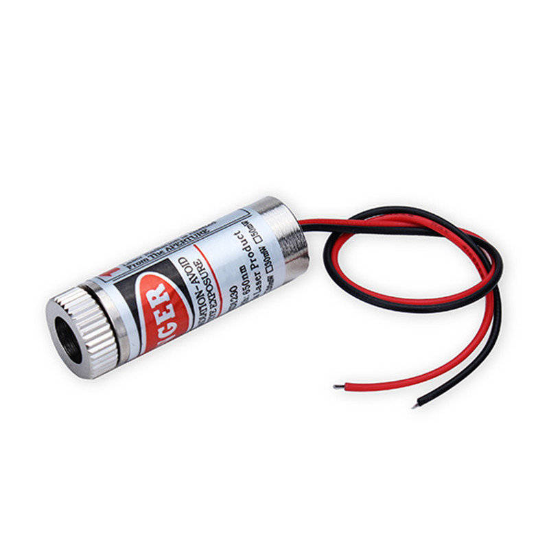 2016 Hot Sale High Standard 650nm 5mW 36V RED Dot Straight Laser Diode Module 135mm Focusable Lens(China (Mainland))