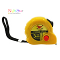 3m 10ft Retractable Ruler Tape Measure Sewing Cloth Metric Tailor Tool Random LOGO
