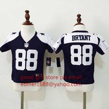 100% stitch baby Dallas Cowboys toddler 9 Tony Romo 22 Emmitt Smith 82 Jason Witten 88 Dez Bryante 50 Sean Lee Embroidery Logos()
