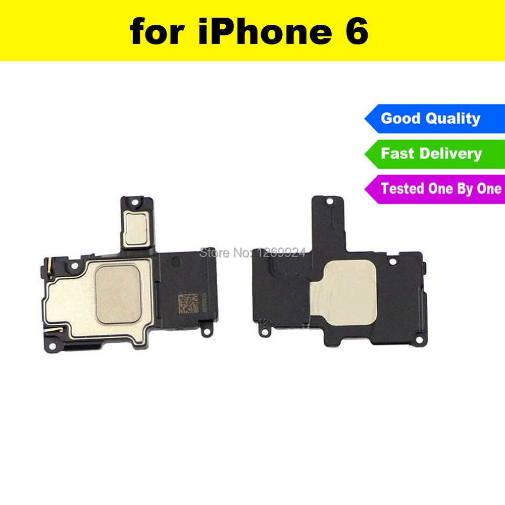 FREE SHIPPING High Quality For iPhone 6 6G 4.7 Replacement Buzzer Ringer Loud Sound Bar Speaker Mobile Phone Flex Cable Parts(China (Mainland))