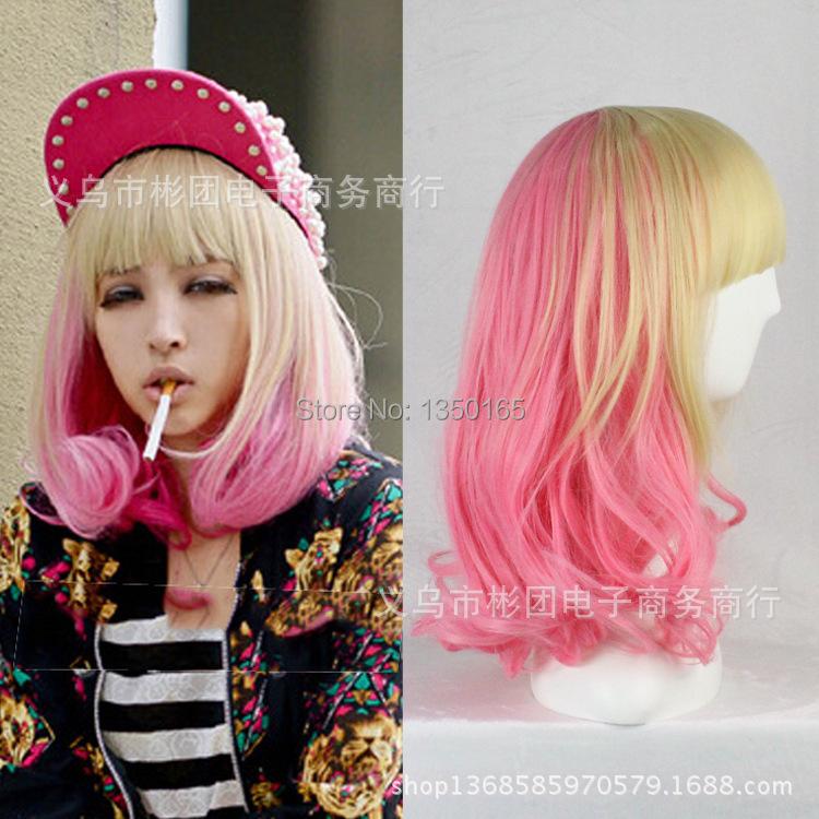 Pink Wigs Halloween Costume Halloween Costume Pink
