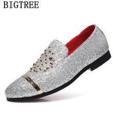Итальянские модные блестящие Лоферы для мужчин; Новое поступление 2020 года; Coiffeur; Свадебные модельные туфли; Мужские элегантные вечерние кла...(China)